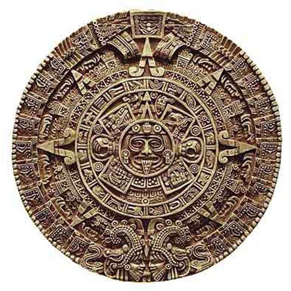 The Aztec Sun disc